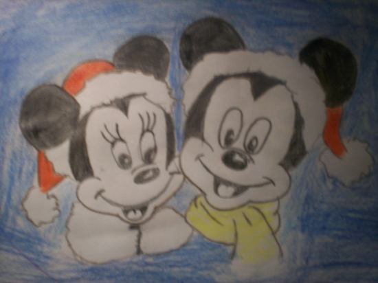 Minnie Mouse, Mickey Mouse by lita